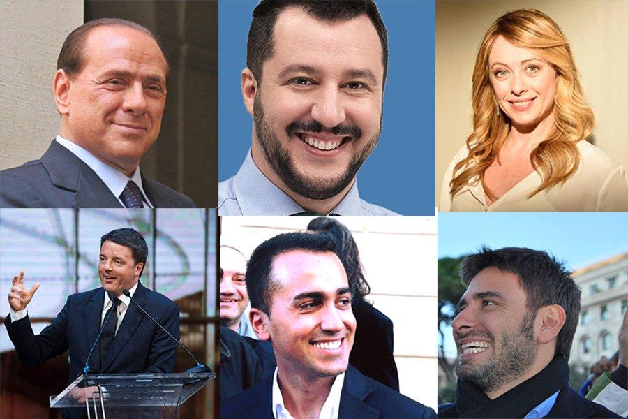 foto Facebook politici italiani
