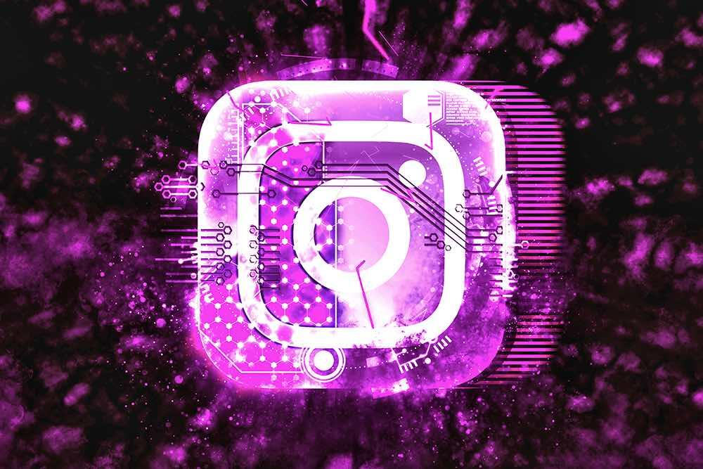 instagram logo tech viola
