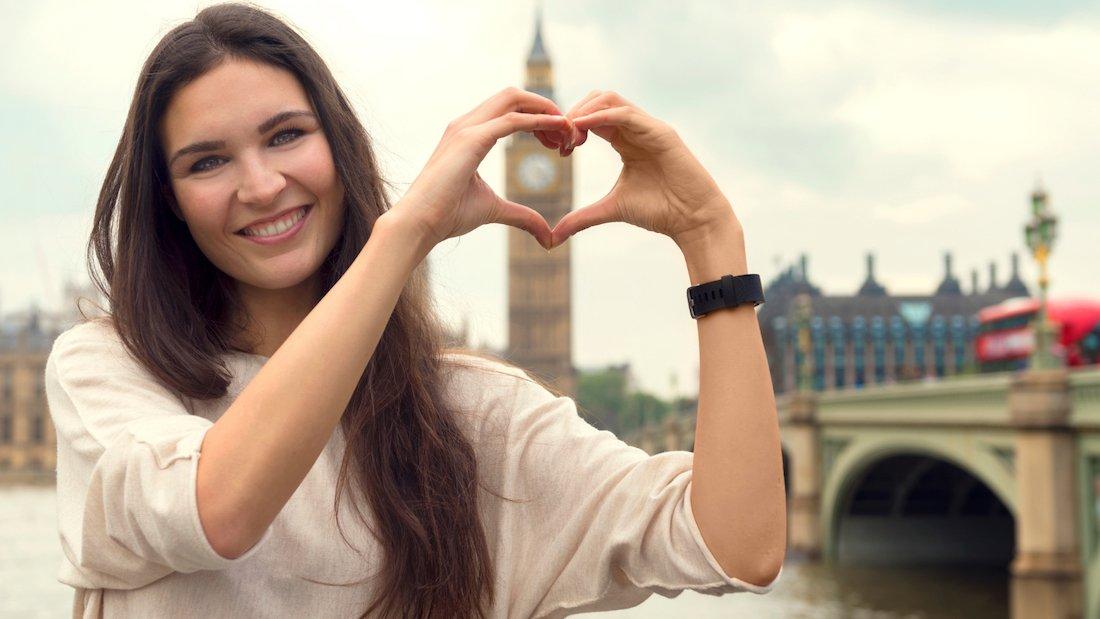 ragazza travel blogger